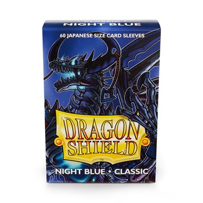 Sleeves: Dragon Shield Japanese Night Blue (60)