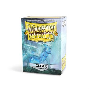 Sleeves: Dragon Shield Matte Clear(100)