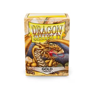 Sleeves: Dragon Shield Matte Gold (100)