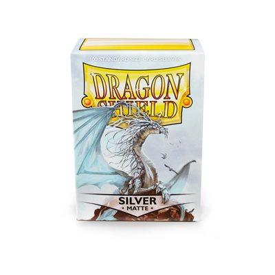 Sleeves: Dragon Shield Matte Silver (100)
