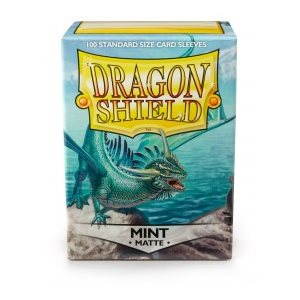 Sleeves: Dragon Shield Matte Mint (100)