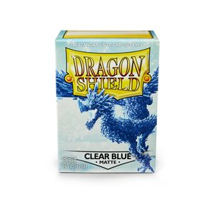 Sleeves: Dragon Shield Matte Clear Blue(100)