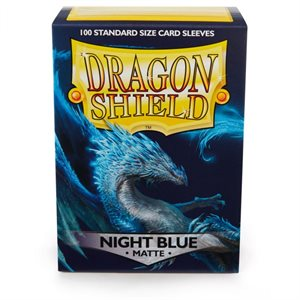 Sleeves: Dragon Shield Matte Night Blue (100)