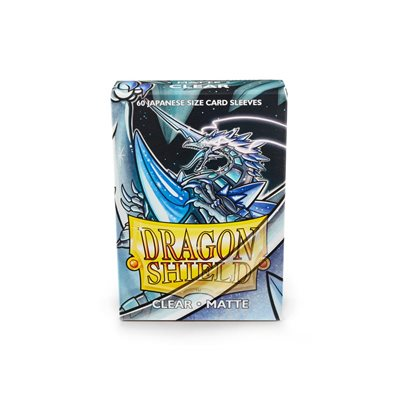 Sleeves: Dragon Shield Matte Japanese Clear (60)