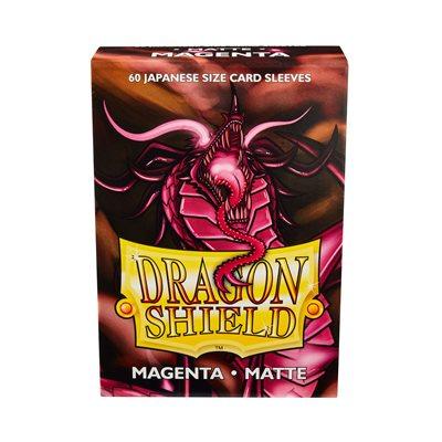 Sleeves: Dragon Shield Matte Japanese Magenta (60)