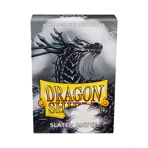 Sleeves: Dragon Shield Matte Japanese Slate (60)