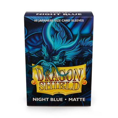 Sleeves: Dragon Shield Matte Japanese Night Blue (60)