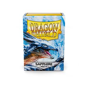 Sleeves: Dragon Shield Matte Sapphire (100)