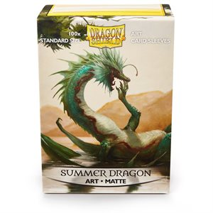 Sleeves: Dragon Shield Limited Edition Art Matte: Summer Dragon(100) ^ June 1 2019