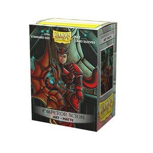 Sleeves: Dragon Shield Limited Edition Matte Art: Emperor Scion: Portrait (100)
