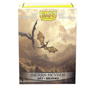 Sleeves: Dragon Shield Limited Edition Brushed Art: Among the Sierra Nevada (100)