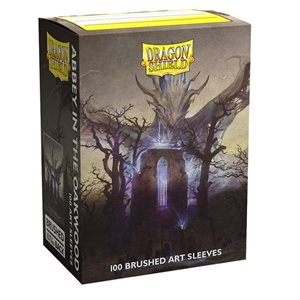 Sleeves: Dragon Shield Limited Edition Brushed Art: Abbey in the Oak Wood (100) ^ NOV 5 2021
