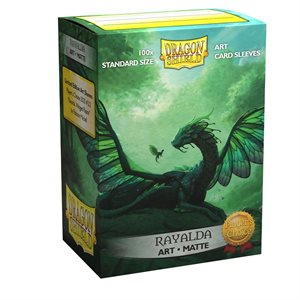 Sleeves: Dragon Shield Limited Edition Matte Art: Rayalda (100) ^ AUG 7, 2020