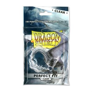 Sleeves: Dragon Shield Perfect Fit Clear(100)