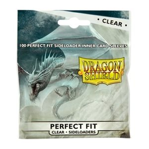 Sleeves: Dragon Shield Perfect Fit Sideloader Clear(100)