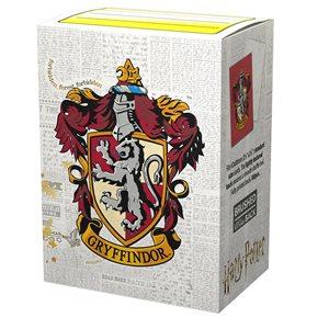 Sleeves: Dragon Shield Brushed Art: Harry Potter: Gryffindor (100)
