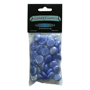 Dragon Shield Gaming Counters: Marble Blue