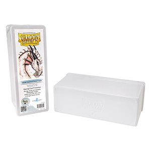 Dragon Shield Storage Box: 4 Compartments White
