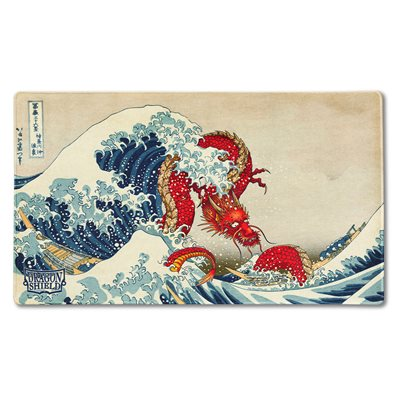 Dragon Shield Playmat Limited Edition: The Great Wave ^ NOV 5 2021