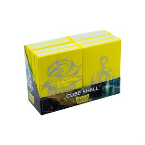 Dragon Shield Cube Shell: Yellow ^ SEP 4, 2020
