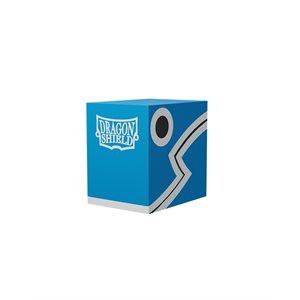 Deck Box: Dragon Shield Double Shell: Blue / Black