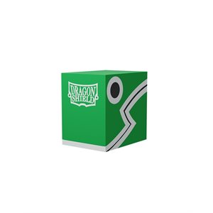 Deck Box: Dragon Shield Double Shell: Green / Black