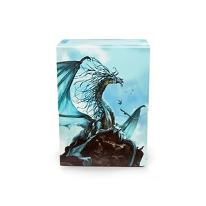 Deck Box: Dragon Shield Deck Shell: Silver Caelum