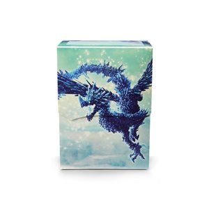 Deck Box: Dragon Shield Deck Shell: Limited Edition Celeste Clear Blue