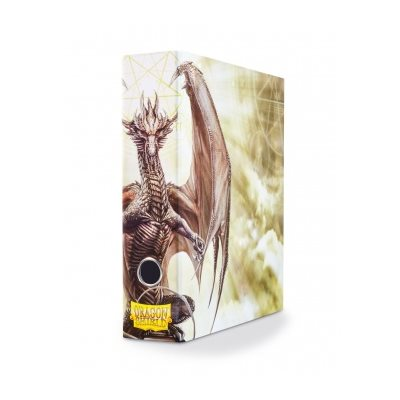 Slipcase Binder: Dragon Shield 9 Pocket Dragon Art White