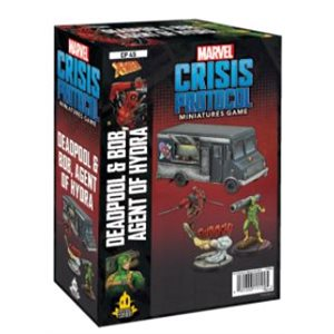 Marvel Crisis Protocol: Deadpool & Bob & Taco Truck Character Pack ^ MAY 7 2021
