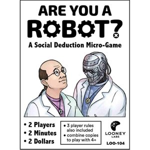 Are You A Robot (No Amazon Sales)