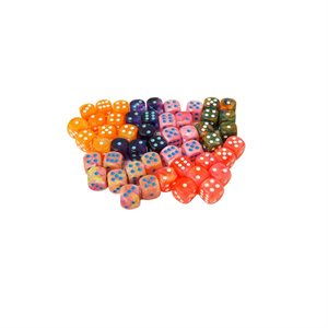 Lab Dice: Limited Edition Bag of 50 Assorted D6