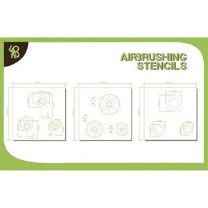 Airbrush Stencils Chaos 1