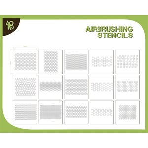 Airbrush Stencils: Stencil Pack: Patterns