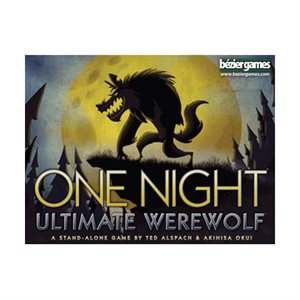One Night Ultimate Werewolf (No Amazon Sales)