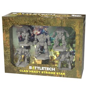 BattleTech: Clan Heavy Strike Star (No Amazon Sales)