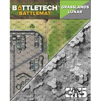 Battle Tech Battle Mats: Lunar