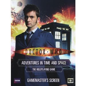 Doctor Who Roleplaying Game: Gamemasters Screen (BOOK) ^ Q3 2020