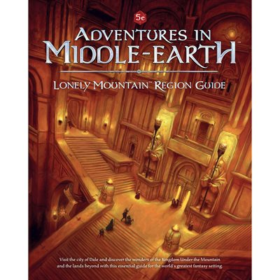 D&D: Adventures in Middle-Earth Lonely Mountain Region Guide (BOOK) ^ July 2019