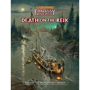 Warhammer Fantasy Roleplay: Death Reik Enemy Within Vol 2 (BOOK) ^ DEC 2020