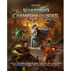 Warhammer Age of Sigmar: Champions of Order (BOOK) (No Amazon Sales)