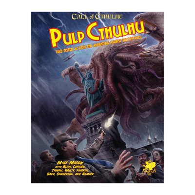Call of Cthulhu: Pulp Cthulhu HC (BOOK)