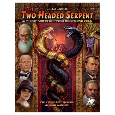 Call of Cthulhu: Two-Headed Serpent - Pulp Cthulhu Campaign (BOOK)