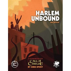 Call of Cthulhu: Harlem Unbound 2nd edition (BOOK)