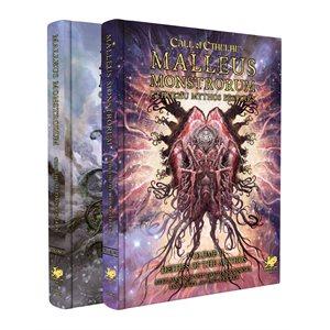 Malleus Monstrorum Cthulhu Mythos Bestiary Slipcase (2pc Harcover) (BOOK)