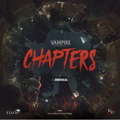 Vampire the Masquerade: Chapters (No Amazon Sales) ^ MAY 2022