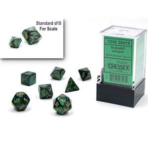 Scarab: Mini 7Pc Jade / Gold ^ Q4 2021