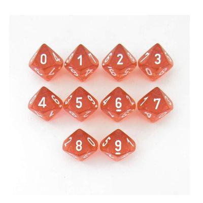 Translucent: 10D10 Orange / White