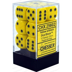 Opaque: 12D6 Yellow / Black