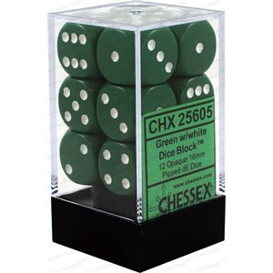 Opaque: 12D6 Green / White